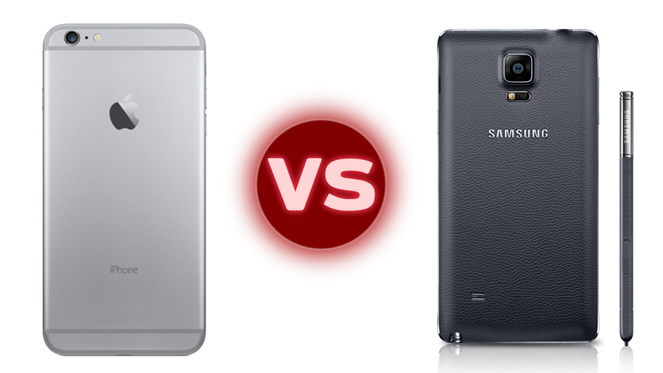 Samsung Galaxy Note 4 vs. Apple iPhone 6 Plus: Specs and Features