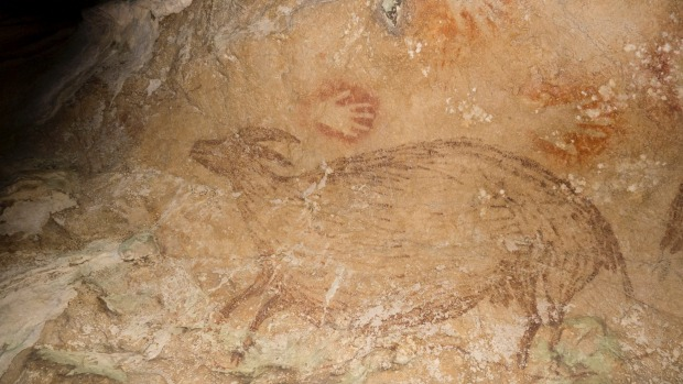 Indonesian Cave Paintings-2