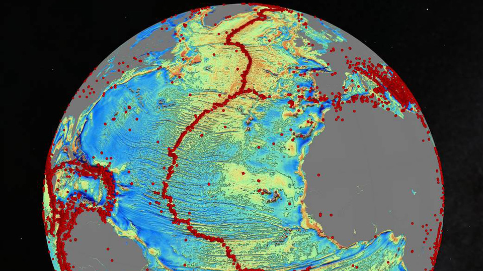 Thousands of inactive volcanoes discovered by new seafloor ...