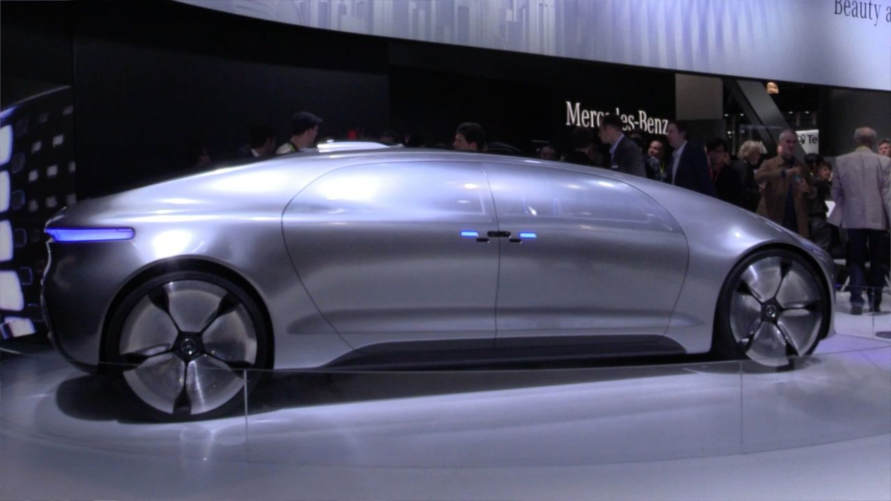 Mercedes benz f 015 self driving electric car makes for Mercedes benz f 015