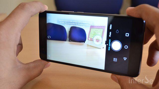 Honor 6 Plus - Camera UI