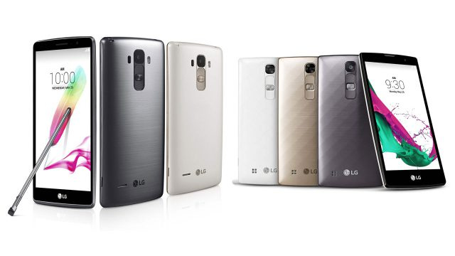 LG wraps off G4 Stylus and G4c bringing G4 features 'without