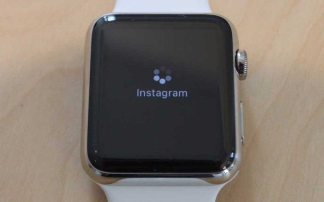 Is there an instagram app for apple watch
